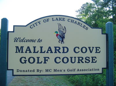 Entrance Sign.Mallard Cove