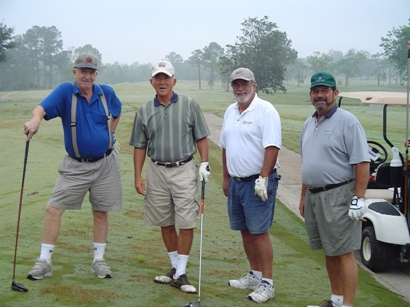 1st Foursome after Hurricane Rita