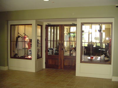 Pro shop from East entrance