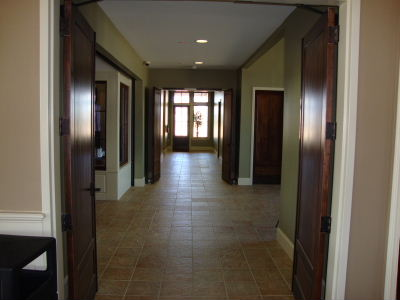 MC hallway view from dining area