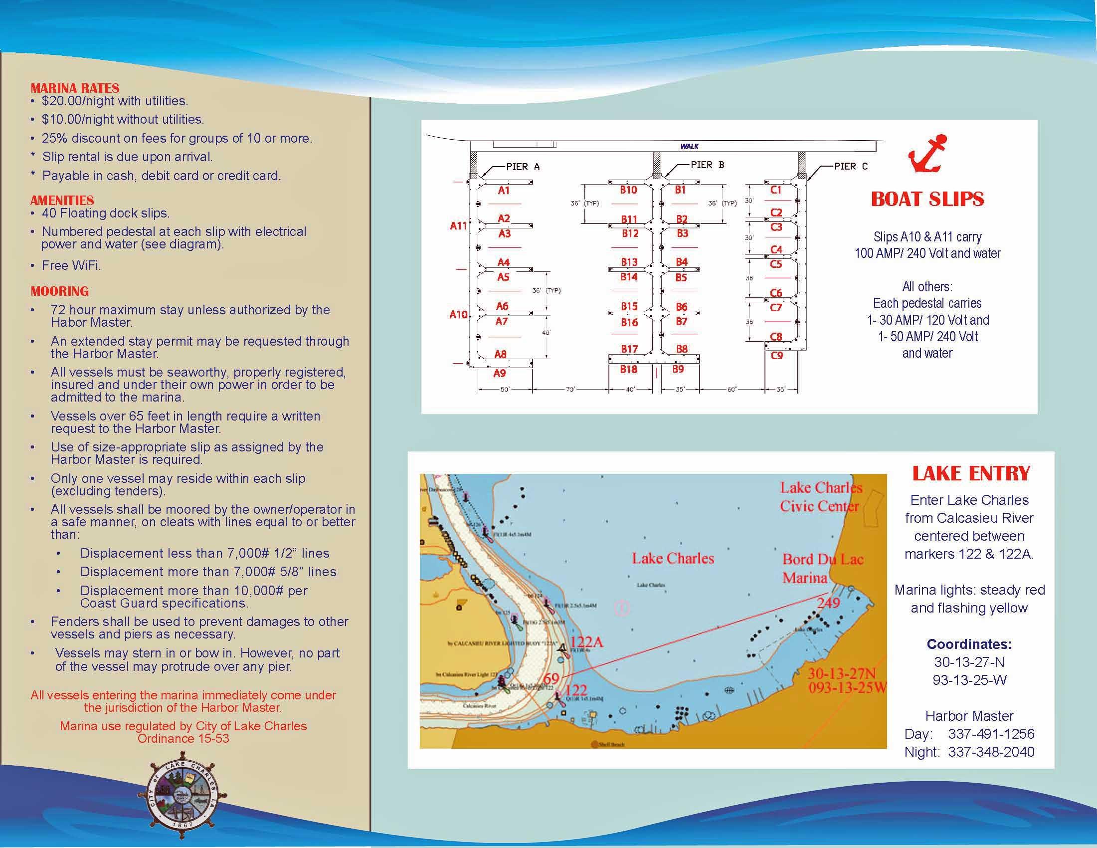 BordduLac Marina Brochure Page 2