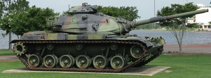 Veterans Memorial Park Tank