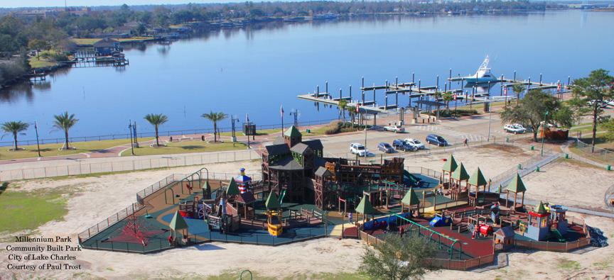 Millennium Park Lake Charles