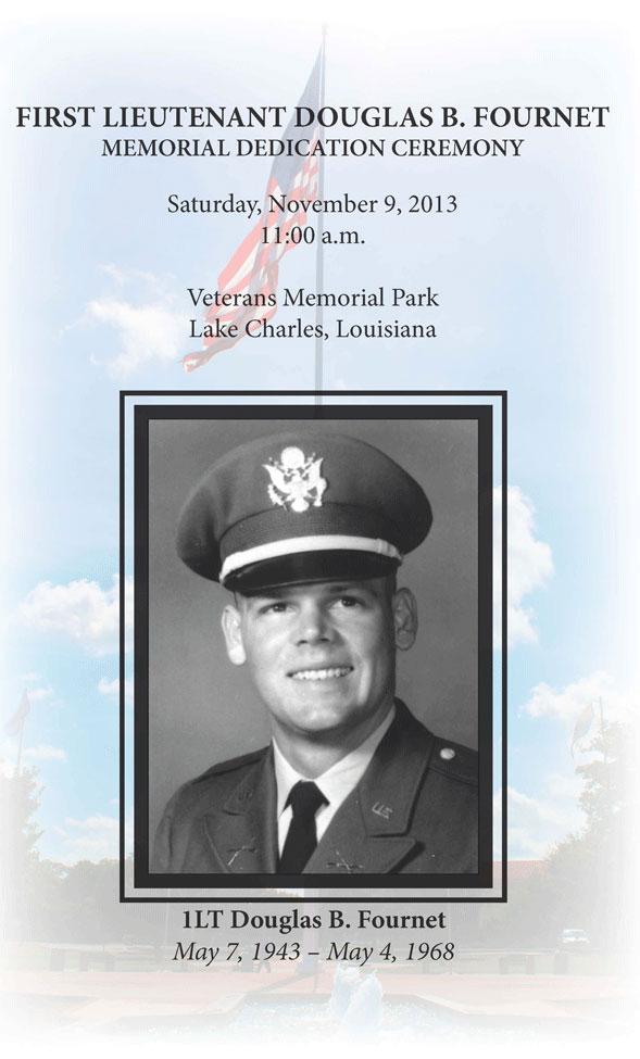 1st Lt Douglas B Fournet Memorial