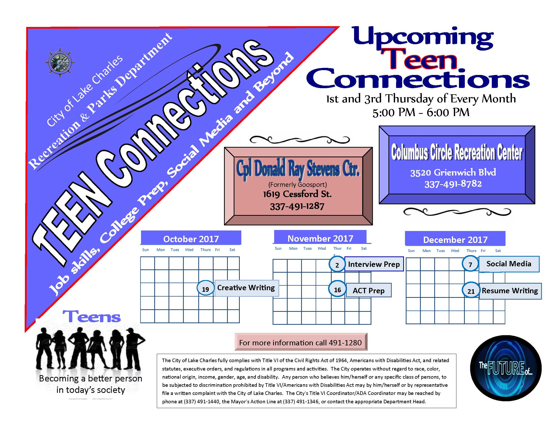 Teen Connections 2017