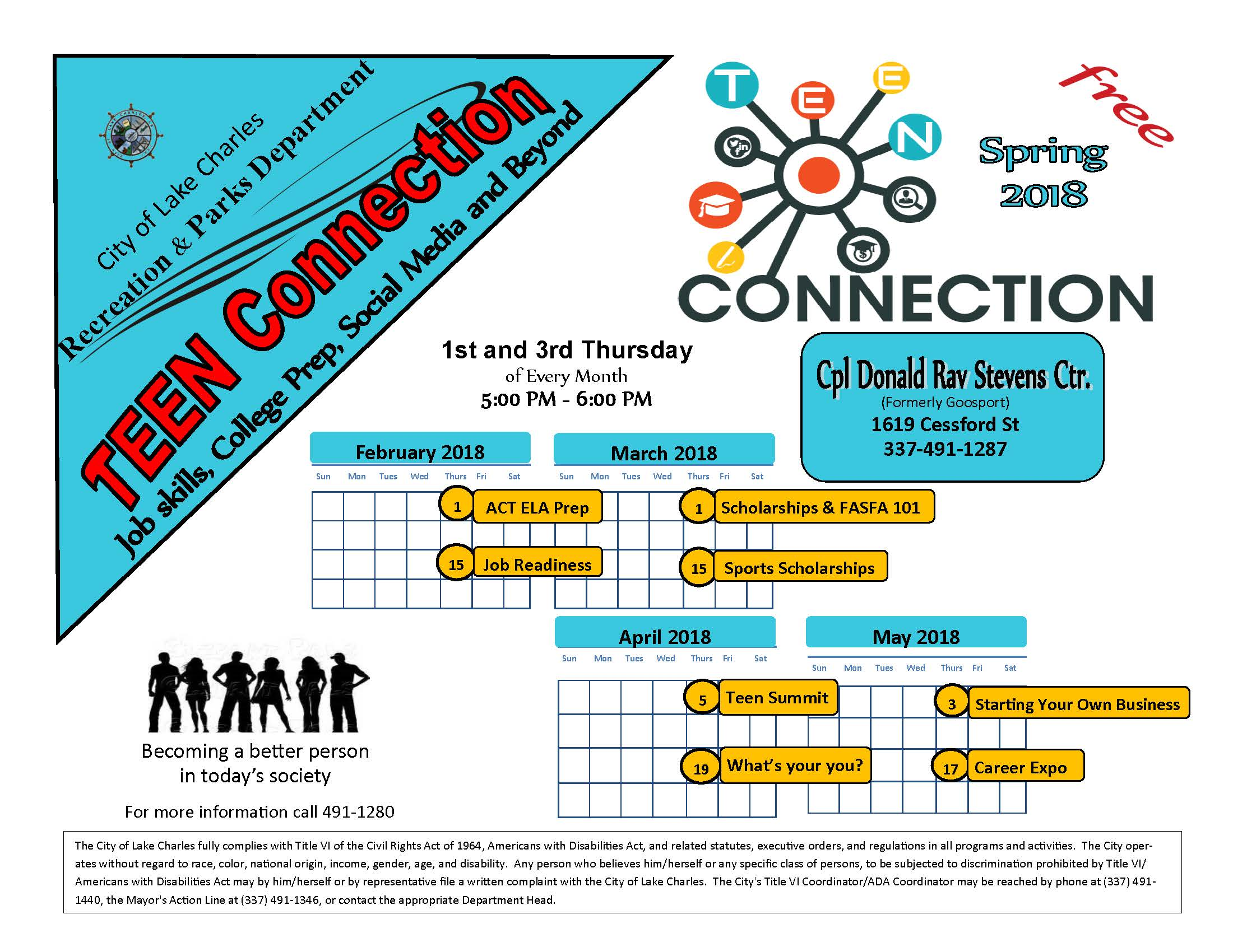 Teen Connections 2018