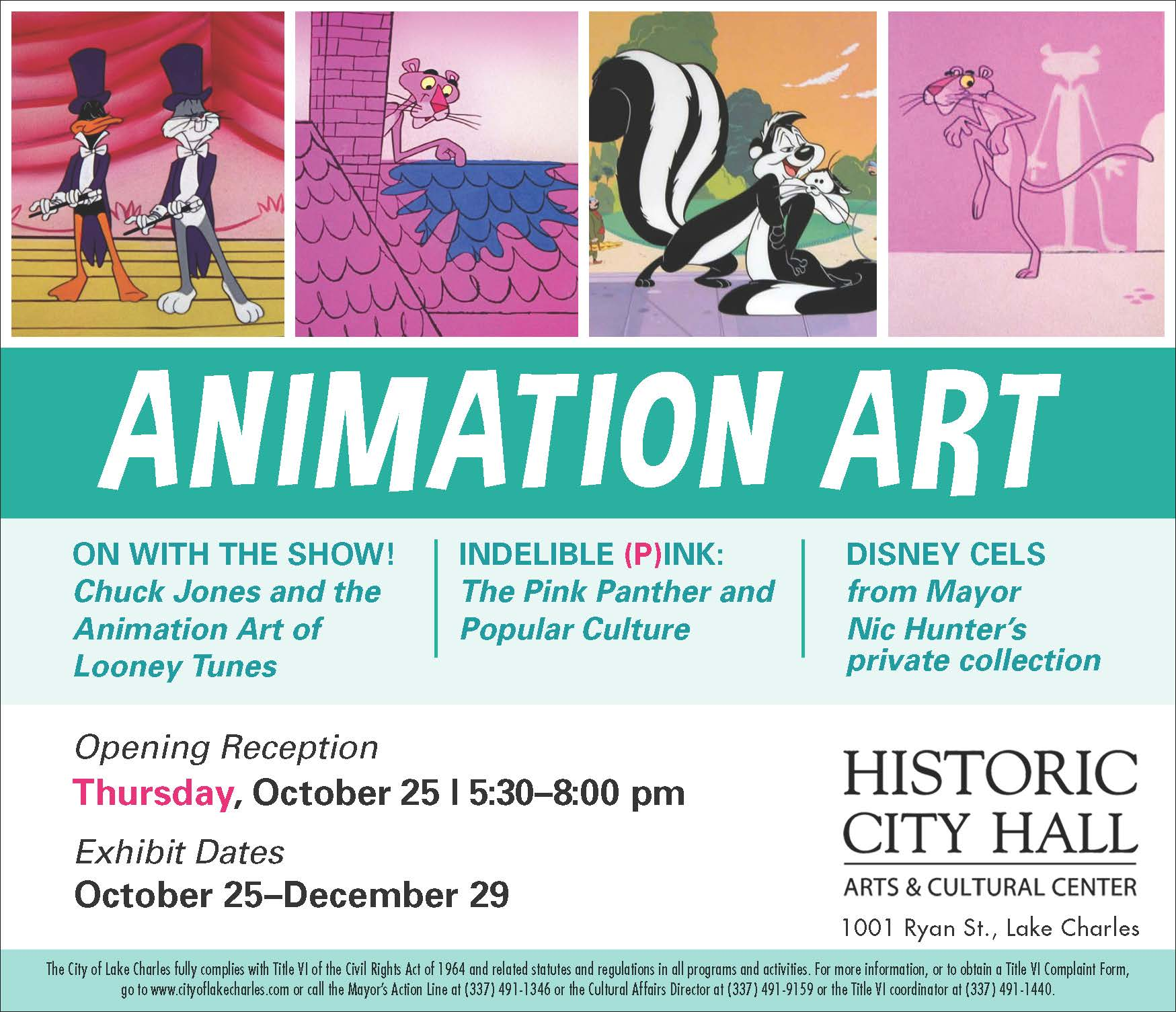 """Document Center / """"Animation Art"""" to open at Historic City"""